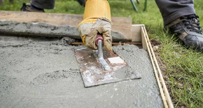 usos hormigón seco