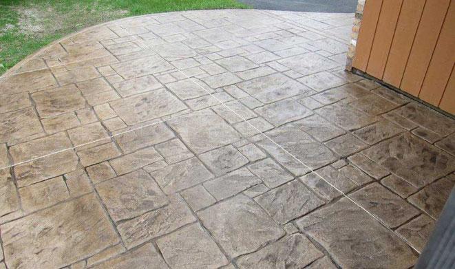 pavimento impreso piedra