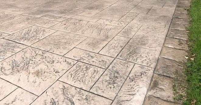 Pavimentos de hormigón impreso