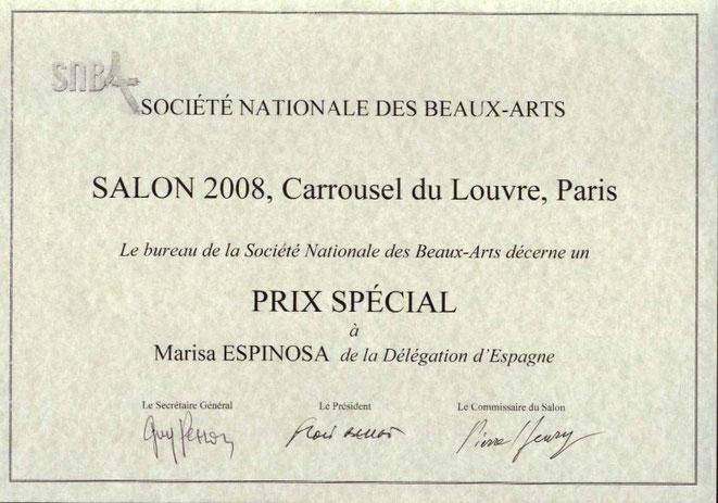Premios y galardones - Salon carrousel du louvre ...