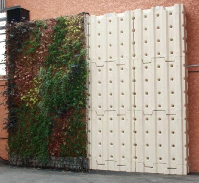 Cuve d'eau MURDEAU - Végétalisation  Geoenergies & Aquae Vision
