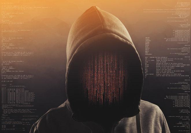 Grafische Darstellung eines Hackers, Aaden Wirtschaftsdetektei Berlin | IT-Sicherheit Berlin | IT-Forensiker Berlin