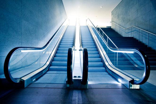 Service für Rolltreppen durch AABerlin