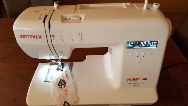 Nähmaschine Gritzner Hobby 140