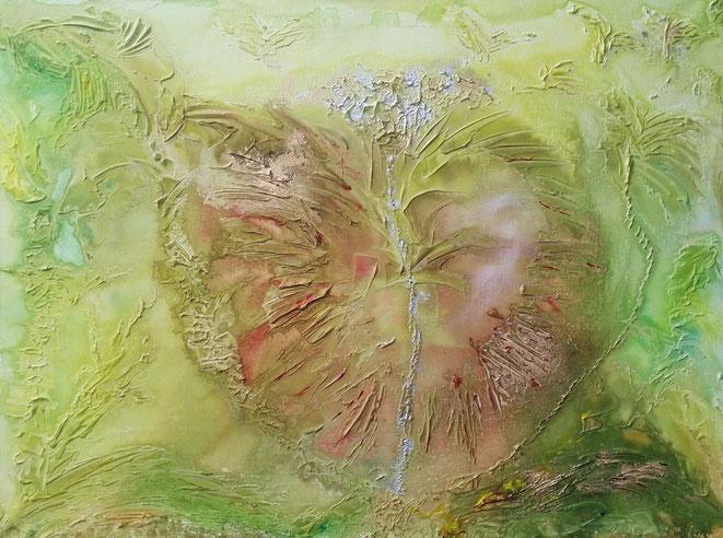 Bild Nummer : 051709  Grösse  : 100 x 76 (cm)  Material : Acryl auf strukturierter Leinwand   Orig. 650.- Euro