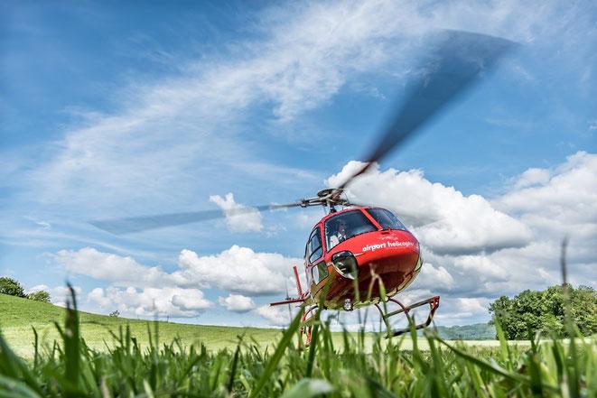 Elite Flights, AS350 B2 Ecureuil, HB-ZPF, Helikopterflug, Rundflug, Helikopterrundflug