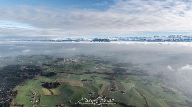 Elite Flights, Luftaufnahmen, Fotoflug, Filmflug, Karin Gubler