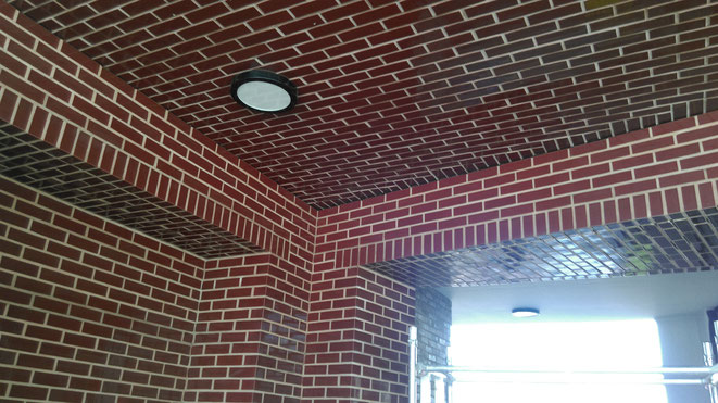 Glazed Brick Slip Cladding Panels
