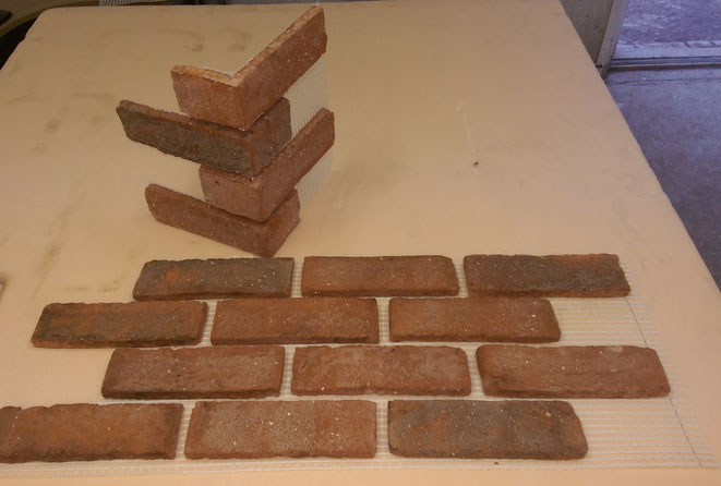 Real Brick Slip Tile Mosaic - Brick Bond Solutions
