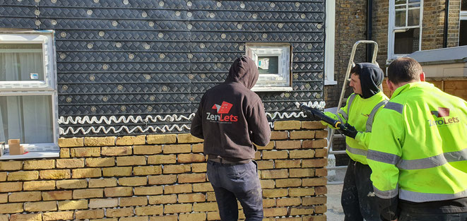 Brick Slip Tracking System Installation