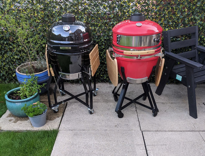 Outdoor kitchen and Kamado Grill products