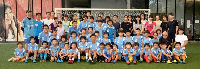 志田コーチお別れサッカー集合写真