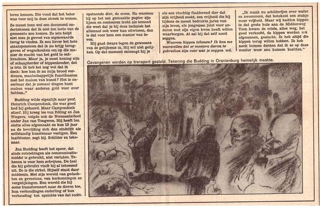 Frans Duister interview in De Tijd 73 deel 2.