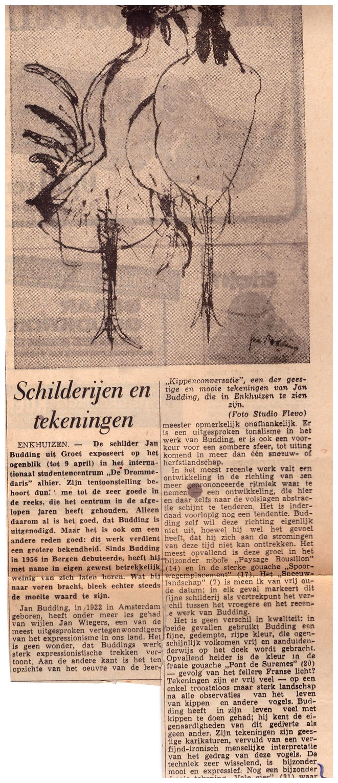 Jan Budidng recensie expo Enkhuizen.