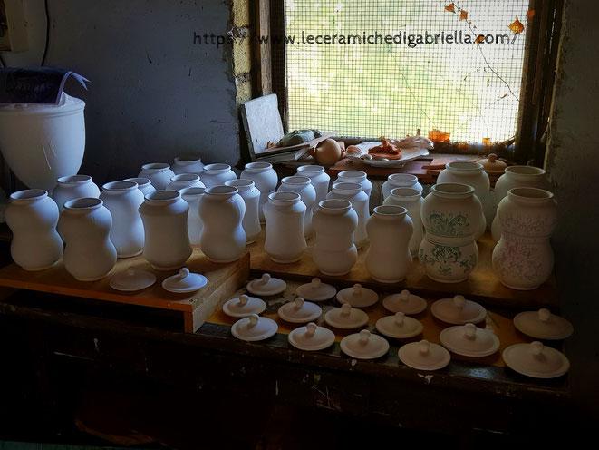 vasi speziali per erboristeria