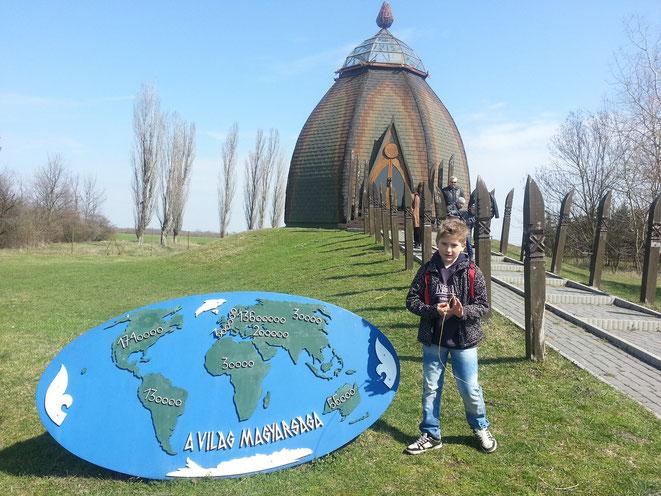 Museum im Stiel der Magyaren- Häuser