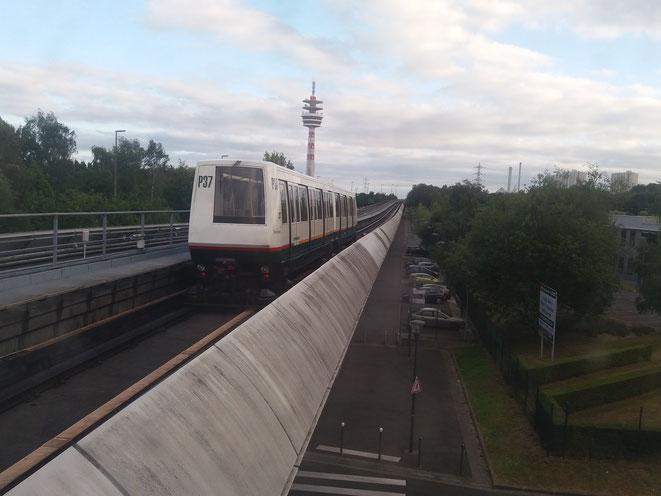 métro à V Ascq