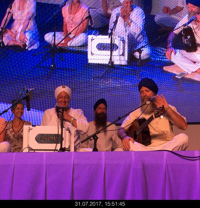 Jedes Jahr mit dabei Gurudass Kaur