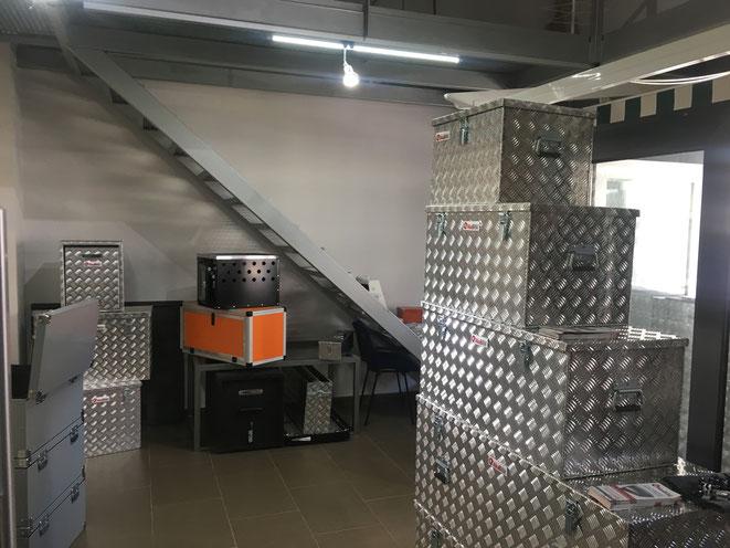 cajas de aluminio disponibles