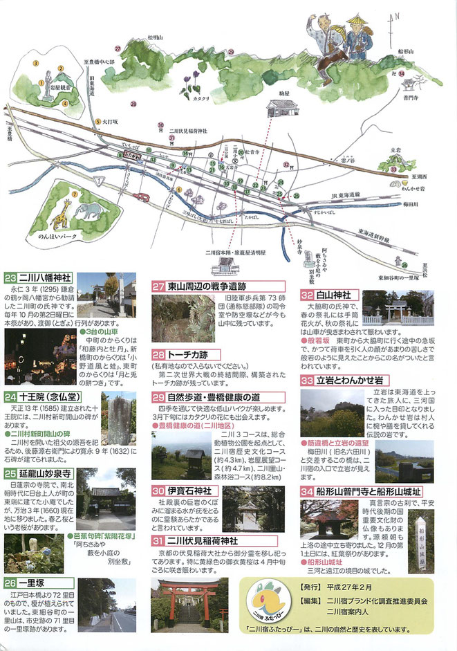 二川宿見どころ案内