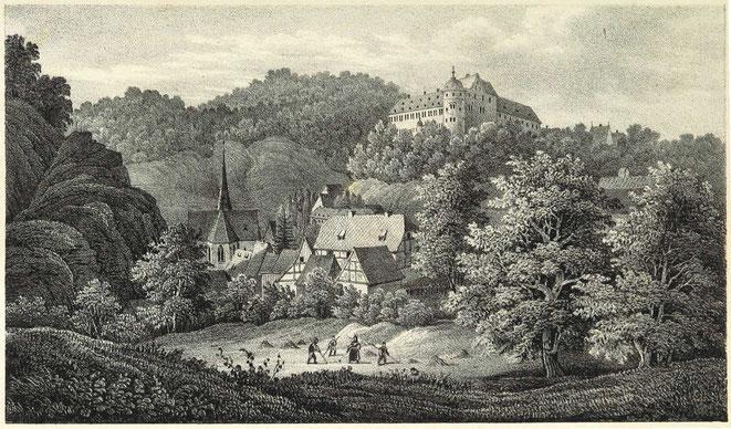 Stolberg im Harz - Hier wohnten meine Großeltern September bis November 1945. Meine Eltern wurden in dieser Kirche getraut.