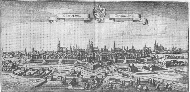 Breslau (heute Wroclaw, Polen) - Hier wohnte Ömchen von 1925 bis 1945.