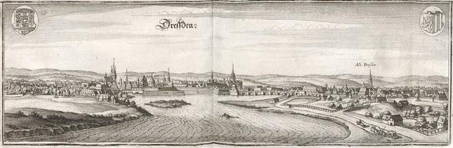 Dresden - Hier wohnten Ömchen und Opi Januar - September 1945.