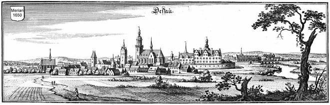 Dessau - Hier wohnte Ömchen (und auch Opi, Vati und ch) vom Frühling 1946 bis zum Sommer 1950.