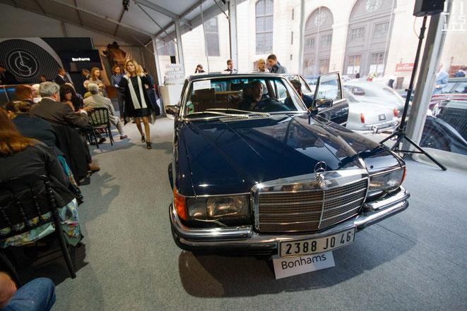 Mercedes-Benz 450 SEL 6.9 berline châssis n° 116.036-12-001097