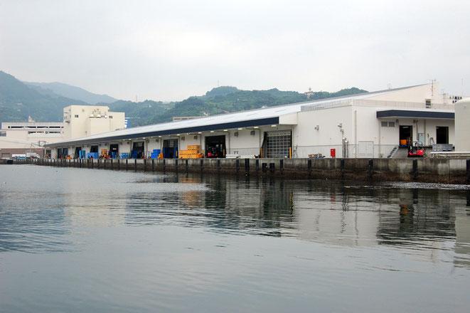 魚市場の外観