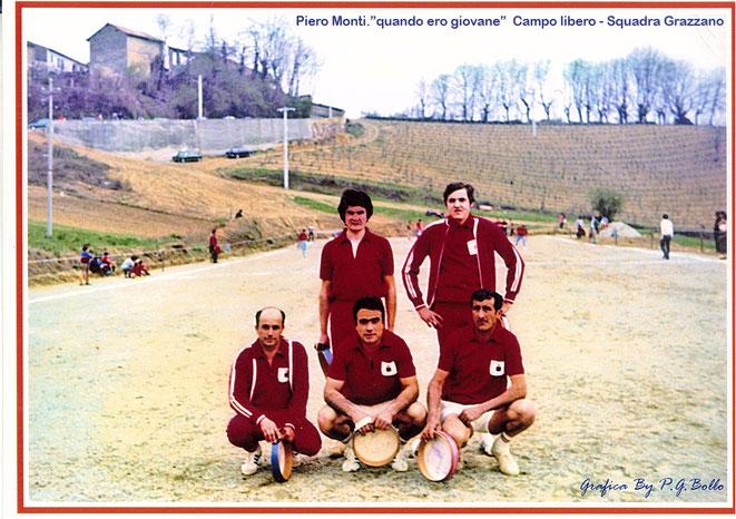 Il Campo a lIbero del Grazzano ora destinato a campo da calcio