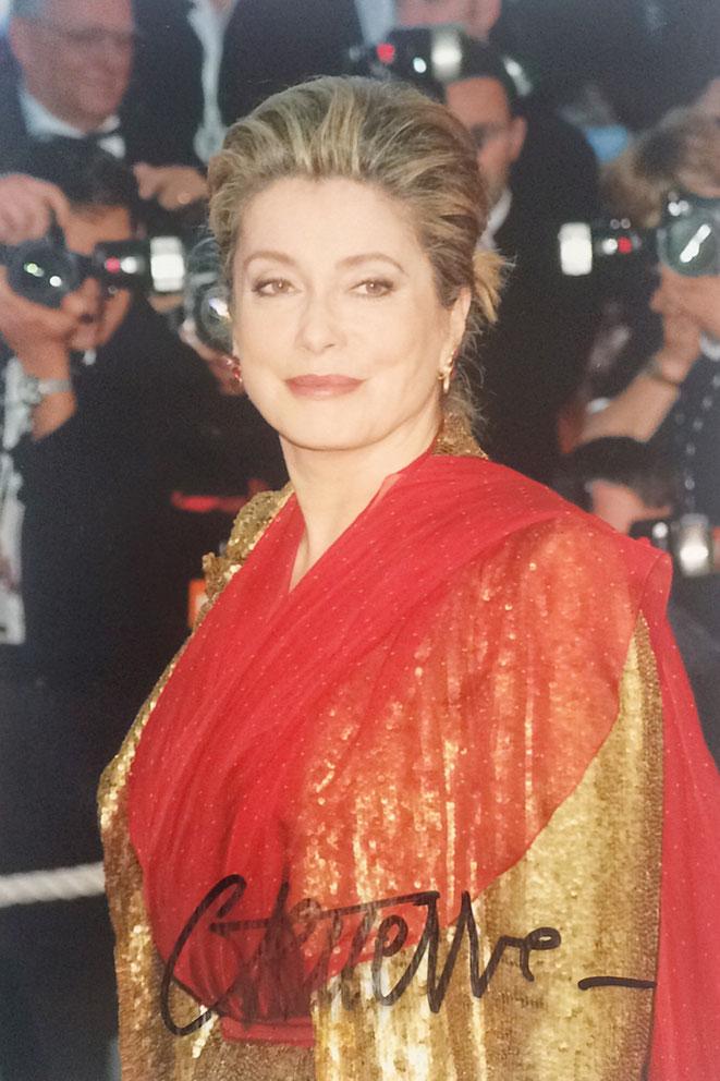 Catherine Deneuve Autograph