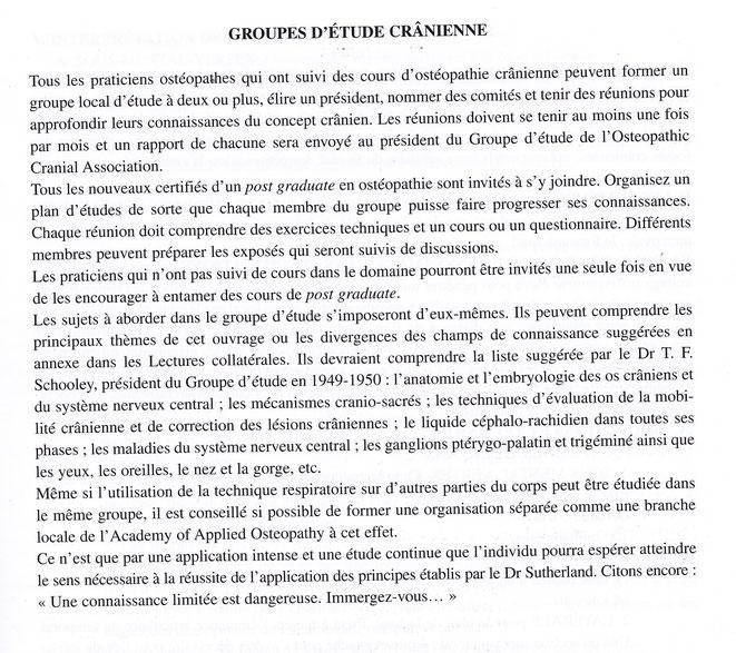P 255 Osteopathie dans le champ crânien 1°édition 1951 trad Henri O Louwette ,DO ed Sully