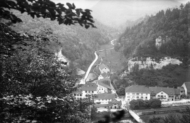 Schmelzi um 1900 herum