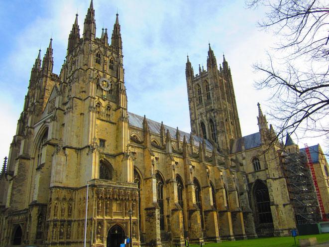 Canterbury Cathedral, Kent, England; Detektei England | Privatdetektiv England | Wirtschaftsdetektei England