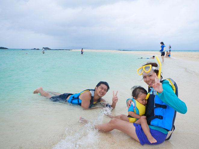 雨の日でも楽しめる!!幻の島上陸ツアー!!!