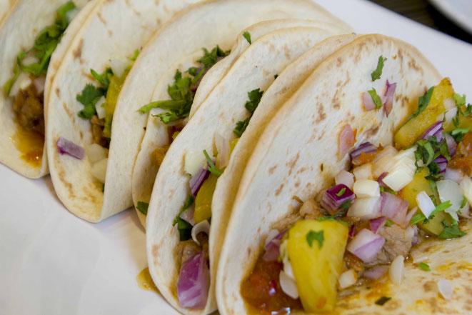 Tacos al pastor Taco Tacos Originalrezept Mexikanisch Mexiko Authentisch original