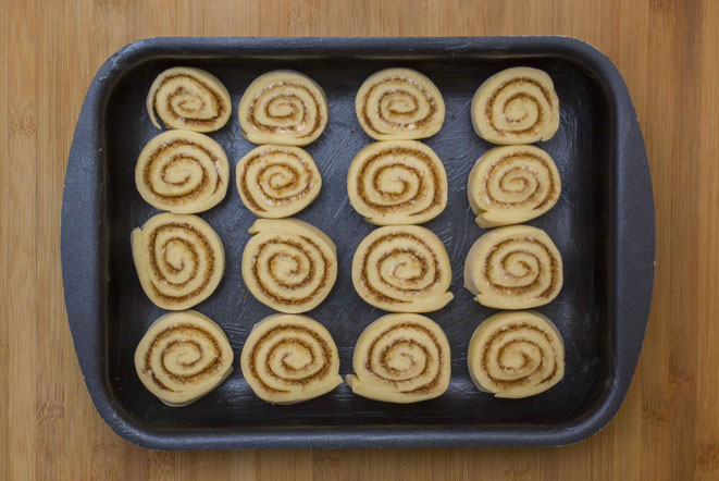 Cinnamon Rolls Zimtschnecken Rezept