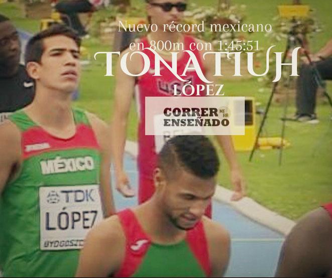 Tonatiuh Lóèz, atleta mexicano