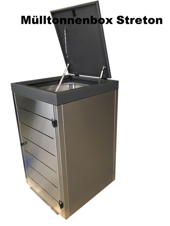 Die flexibelste Mülltonnenbox unserer Zeit.