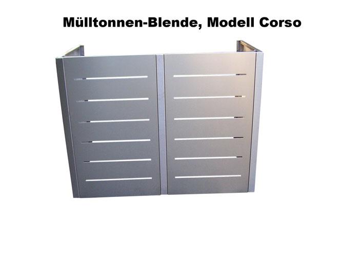 Design Mülltonnenboxen für Haus und Hof gibt es bei Riba-projekt.de