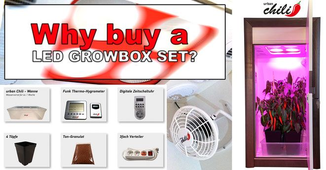 Why buy a Growbox complete?