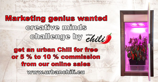 genius wanted - creative minds - challenge by urban Chili