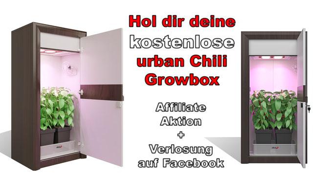 #urban Chili #growbox #affiliate #verlosung #kostenlos