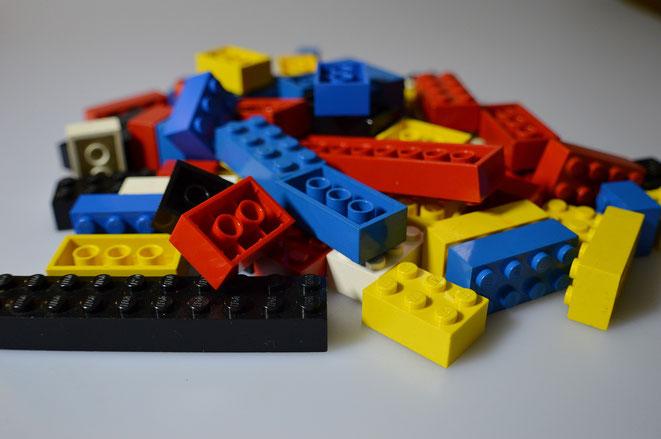 Legobibel Förderer werden