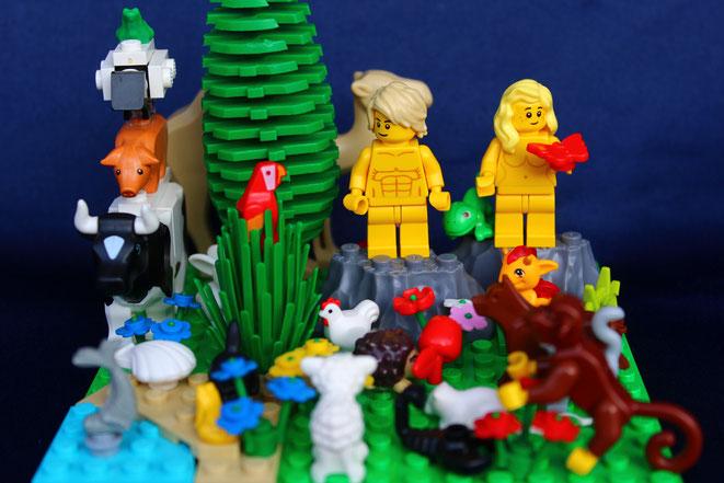 Legobibel Bautage