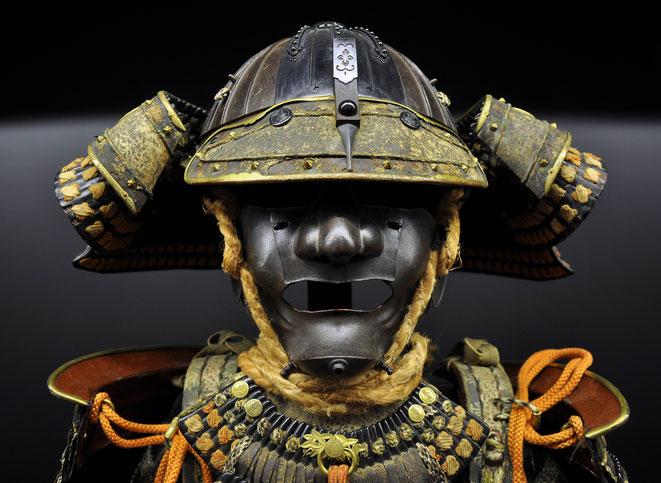 Kabuto, Samurai, Japanese Tattoo Motiv, Japantattoo, Bedeutung JApanisches Tattoos, Samuraihelm, Mempo, Gesichtsschutz, japanischer Krieger, Yoroi, Glücksbringer