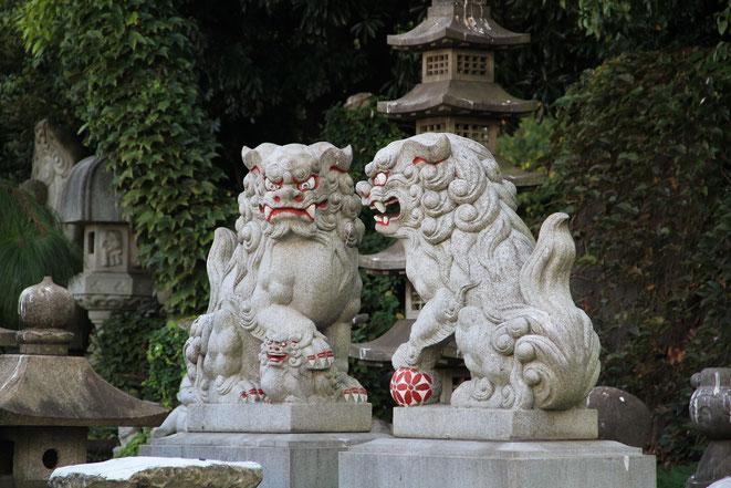 Fudog, japanisch, Tempelwächter, shishi, Löwe, Japanese Tattoo, Japanisches Tattoo, Löwenhund, Tempel, Buddhismus, Beschützer