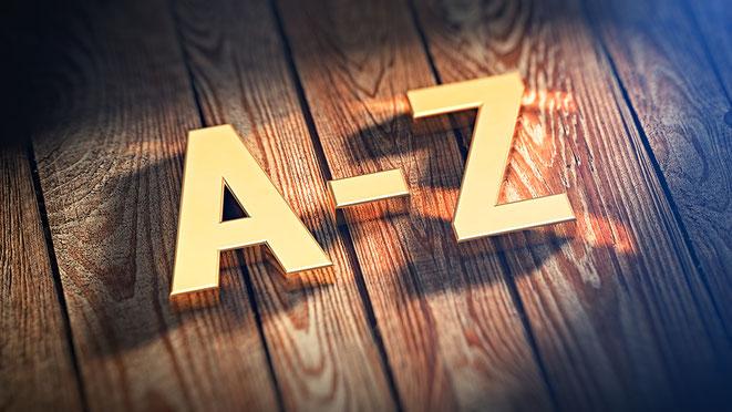 Unterstützung von A bis Z
