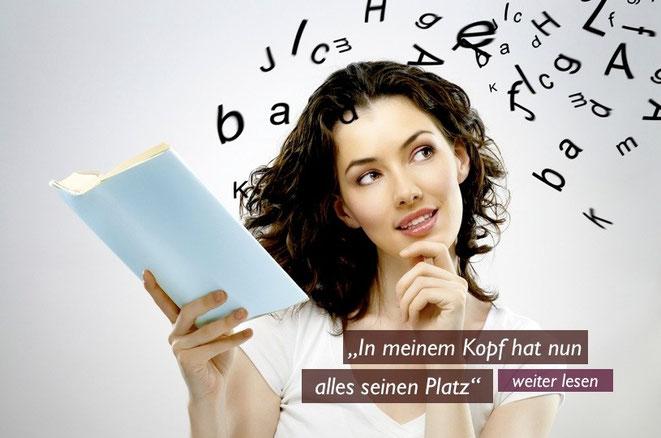 Titelbild: Frau liest